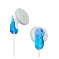 Sony crystal clear sound mdr e9lp stereo earphones biru 2546