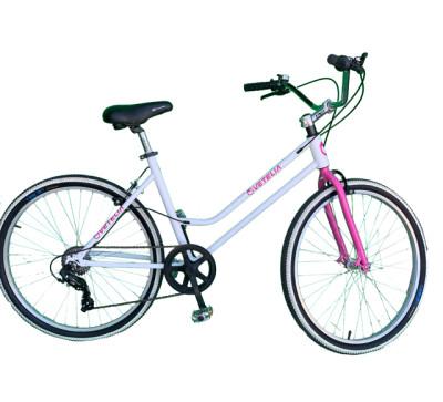 Bicicleta urbana r26 vetelia colors