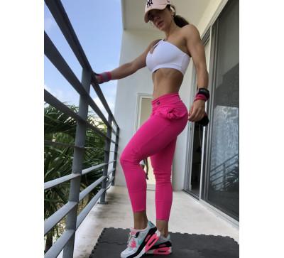Urban pants rosa velvet