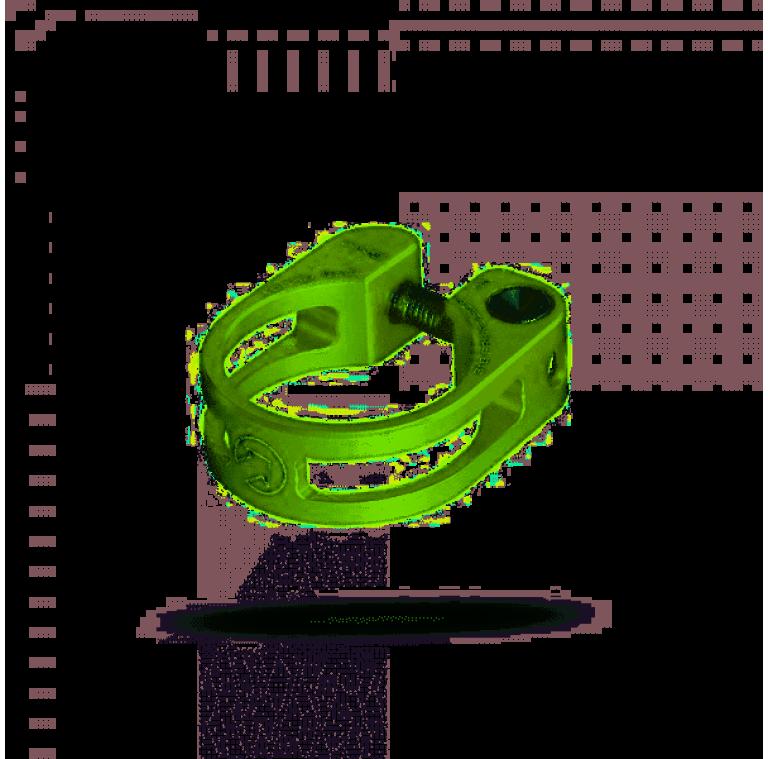 Abrazadera asiento pro verde 34