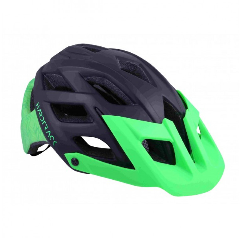 Casco hardtrack ngr