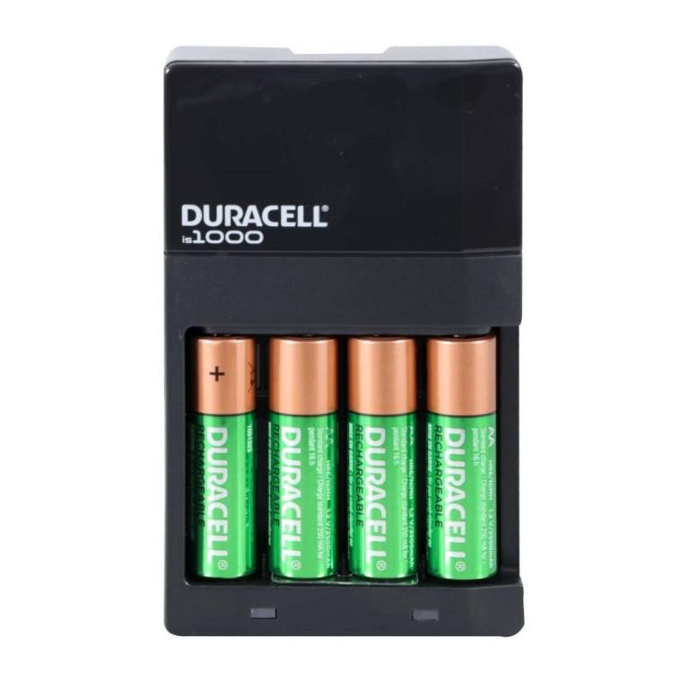 Cargador duracell recargable con 4 pilas aa nuevo original D NQ NP 884048 MLM28055957709 082018 F