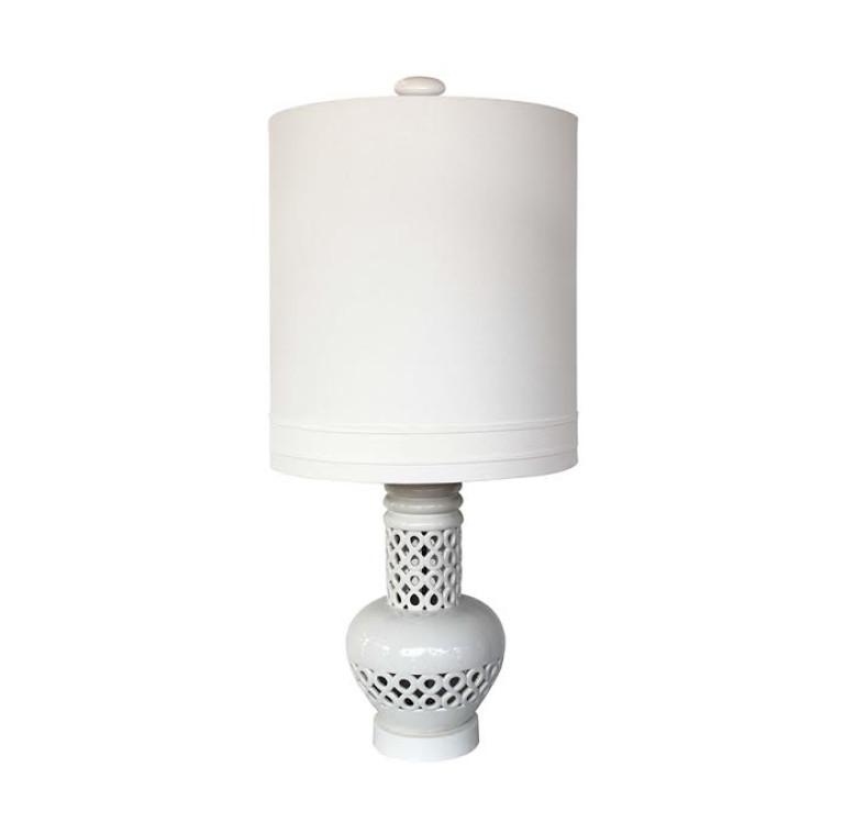 Lampra mesa blanca