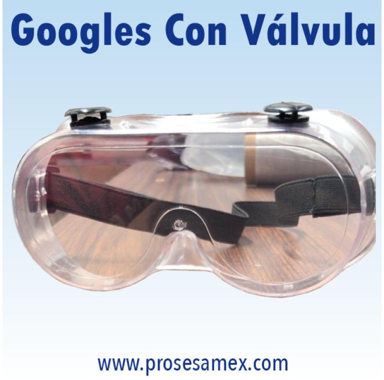 Googles Con Valvula