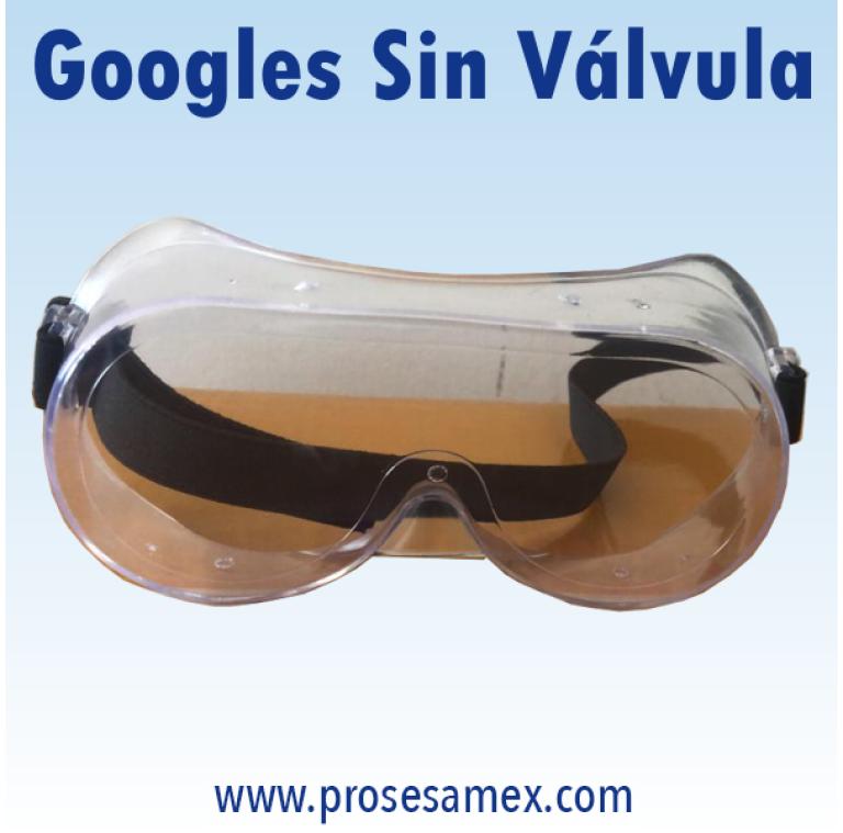 Googles Sin Valvula