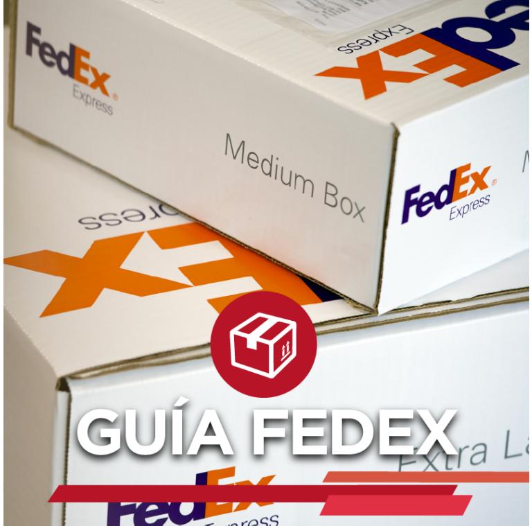 Guia fedex