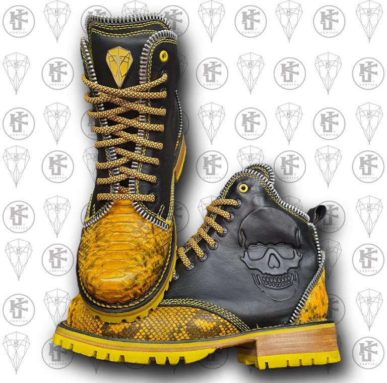 Botas amarillas mx  frente